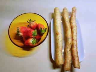 草莓山药,山药和草莓