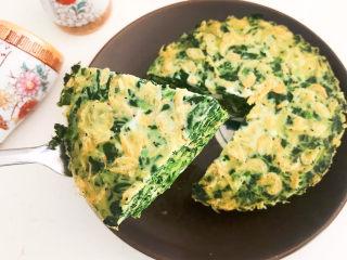 菠菜鸡蛋羹