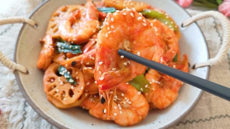 麻辣干锅虾,好吃到吮指。