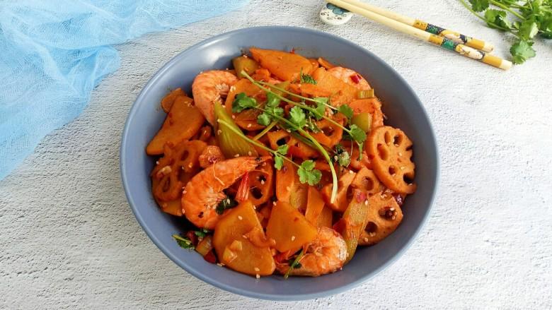 麻辣干锅虾,下饭的麻辣干锅虾就完成了