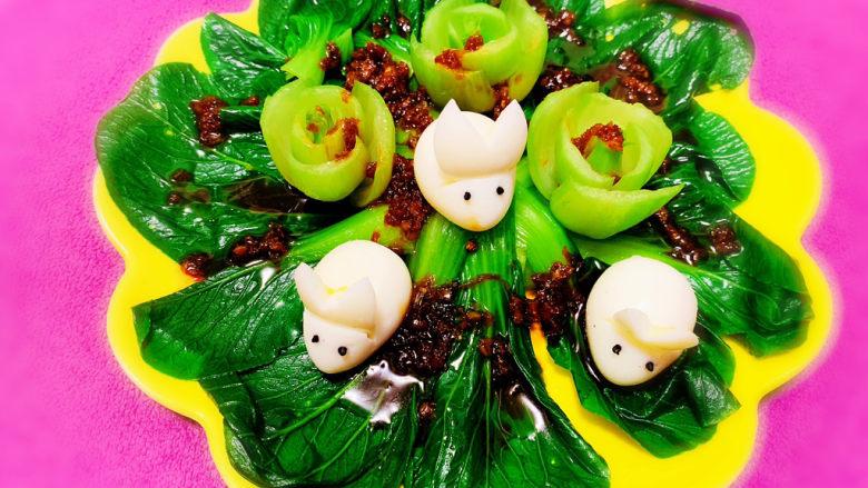 蒜蓉小油菜
