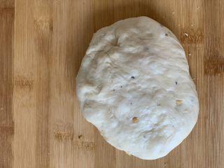 红豆饼,揉面一次发酵