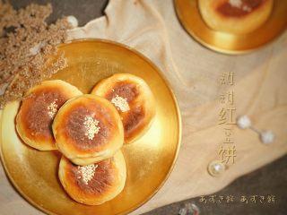红豆饼,预热160度
