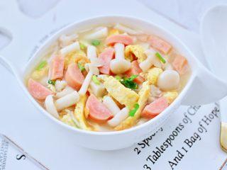 海鲜菇鸡蛋汤,鲜美无比又营养丰富。