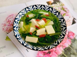菠菜豆腐湯