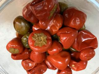 泡椒春筍,準備泡椒