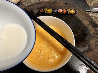 菠菜蛋卷➕绿柳才黄半未匀,水淀粉加入蛋液