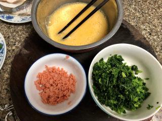 菠菜蛋卷➕绿柳才黄半未匀,准备好了
