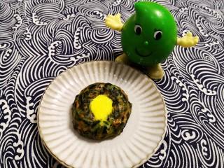 翡翠黄金球之菠菜盏
