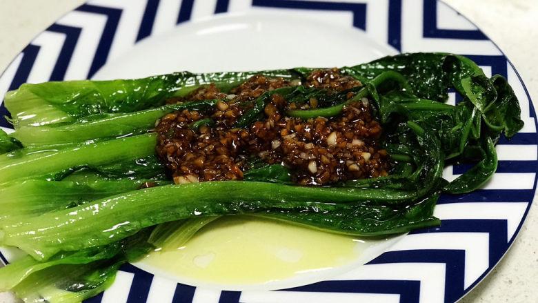 蚝油油麦菜,就这么简单,绝对的下饭菜。