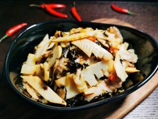 雪菜炒春笋