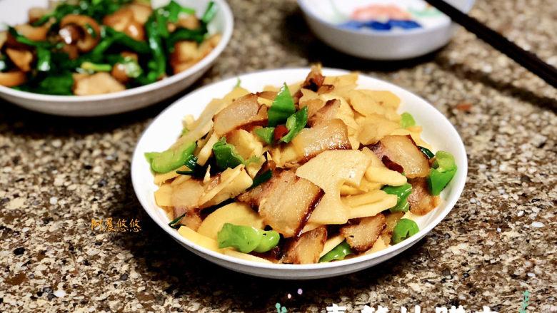 春笋炒腊肉➕好竹连山觉笋香