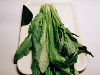 蚝油油麦菜,油麦菜300克
