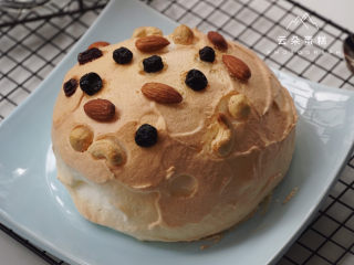 巨简单、超治愈的云朵蛋糕