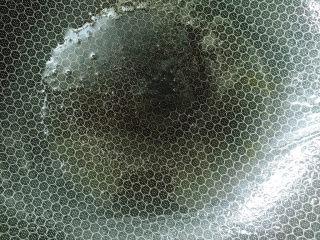 椒丝腐乳炒通菜,热锅冷油