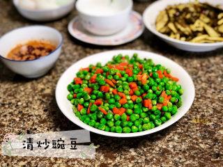 清炒豌豆➕红嘴绿鹦哥