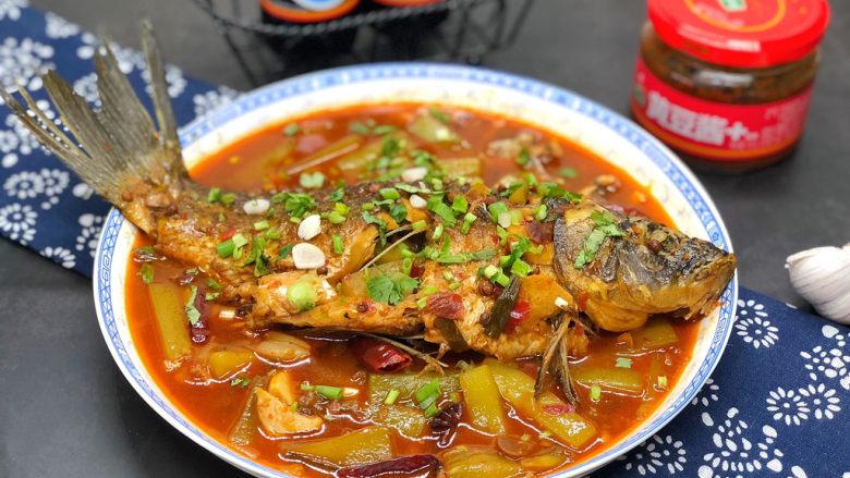 酱焖鲫鱼,很入味,吃起来鲜香