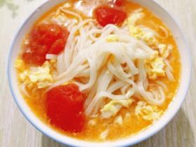 鸡蛋西红柿面