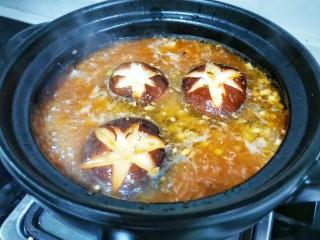 好吃到飞起的砂锅土豆粉,放不耐熟的香菇。