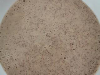 枣饼(二十分钟速成,手残党可入),倒入碗中,加入适量面粉(我用的是普通小麦粉,浓稠度根据个人爱好而定。面粉少一点就成软一点,但不太容易成型,多一点就成饼状。)