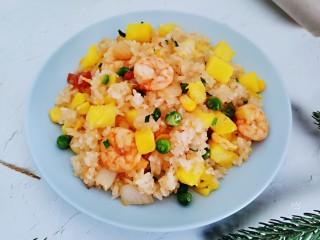 菠蘿蝦仁炒飯