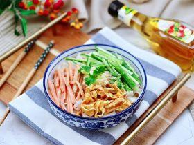 麻醬黃瓜豇豆面