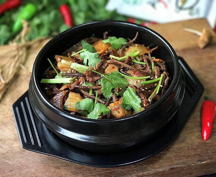 麻辣香锅茶树菇