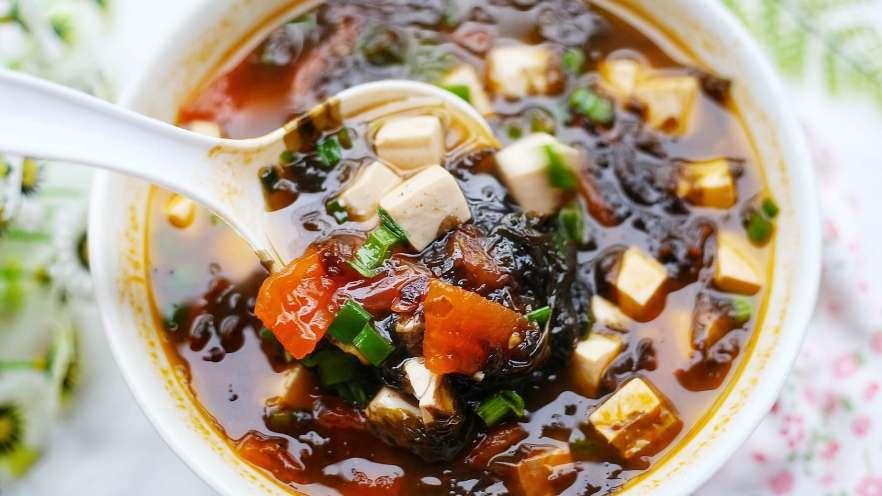 紫菜番茄豆腐汤