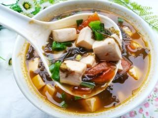 紫菜番茄豆腐汤,喜欢的也试试呀‼️