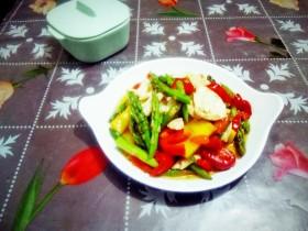 芦笋炒肉片