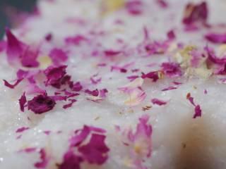 减肥主食 | 玫瑰山药糕