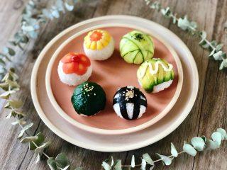 玲珑可爱的手鞠寿司,吃一口满满的幸福感