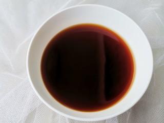 紅燒土豆,加半碗水調勻備用。