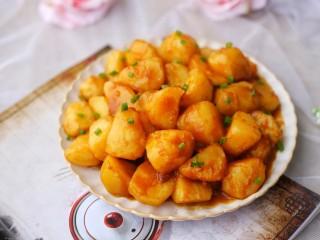 紅燒土豆,超級好吃。