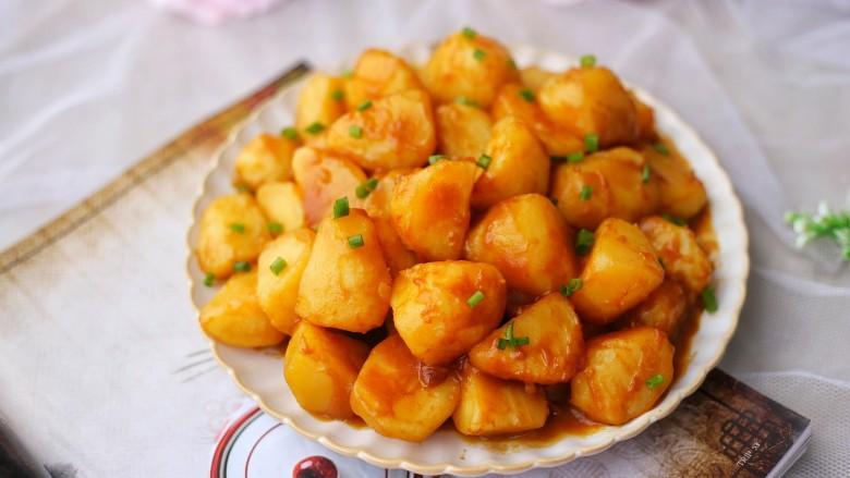 红烧土豆,超级好吃。