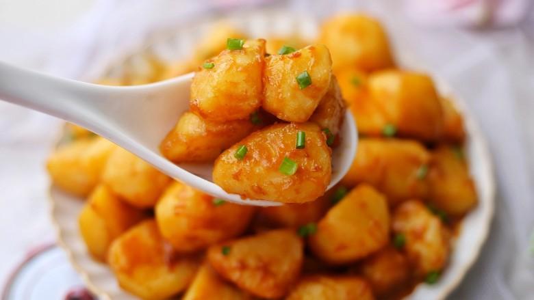 红烧土豆,喜欢的一定要试试。