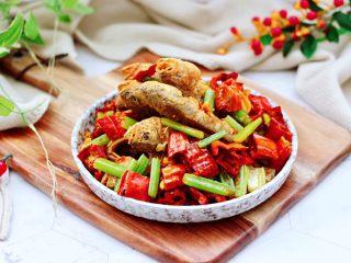 香脆椒干煸黃花魚