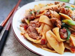杏鮑菇炒牛肉,好吃的下飯菜!