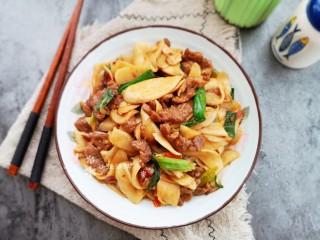 杏鮑菇炒牛肉,鮮香味美!