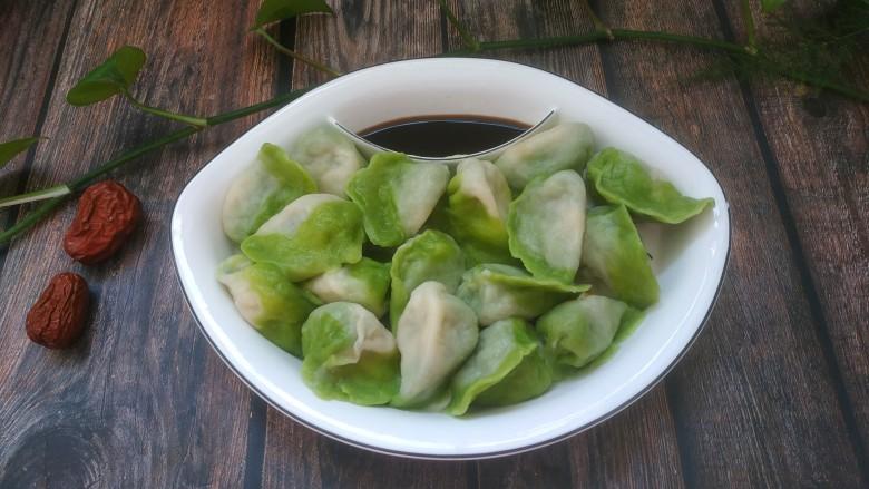 韭菜豬肉餡水餃
