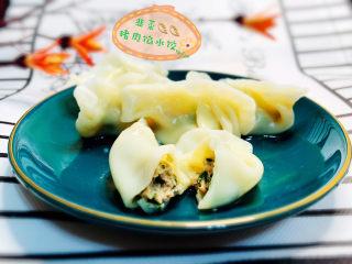 韭菜猪肉馅水饺