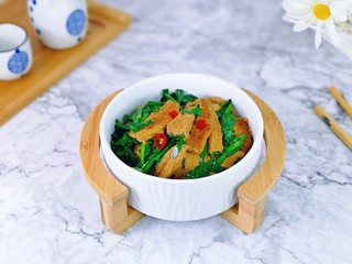 韭菜炒素雞