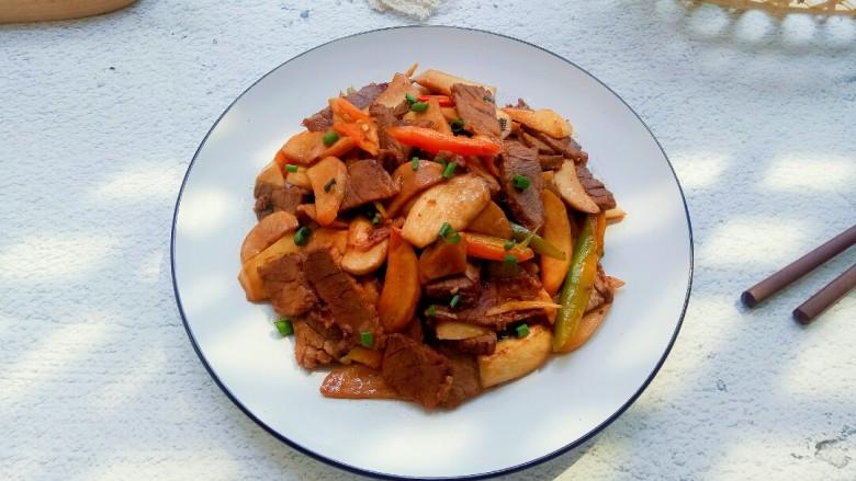 杏鮑菇炒牛肉