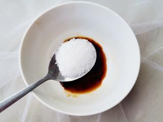 紅燒蘿卜,半勺白糖。