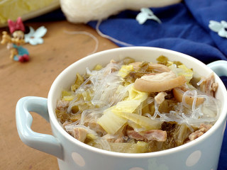 酸菜炖羊肉