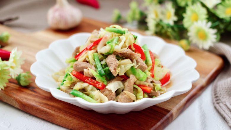 爆炒卷心菜,营养丰富又鲜辣味十足,而且下饭又下酒。