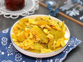萵筍炒雞蛋