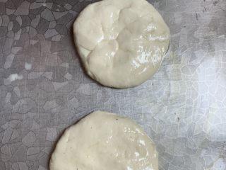 媽媽的味道薄餅,抹油