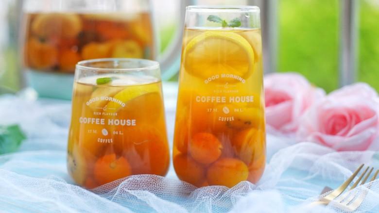 自制高颜值低卡水果茶
