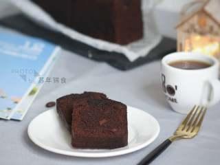 明知是错我却一错再错!热量炸弹—巧克力海盐磅蛋糕